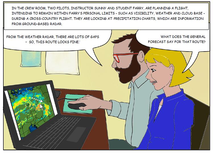 Sunny Swift: Weather radar information: Issue 12   EASA