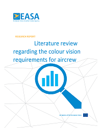 Literature review regarding the colour vision requirements for aircrew