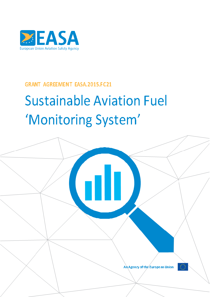 Sustainable Aviation Fuel 'Monitoring System'