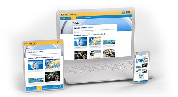 EASA Light tablet laptop phone