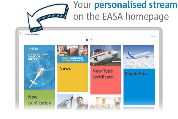 EASA Website pro landing page