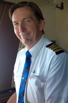 Captain Bert Bonke, Chairman Flight Data Working Group, of ECA
