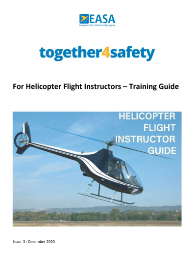 Helicopter Flight Instructor Guide, Issue 3.0