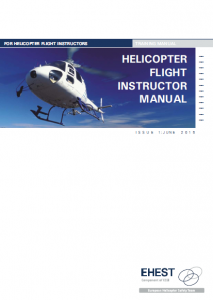 ehest helicopter flight instructor manual easa rh easa europa eu Textbook Instructor Manuals casa flight instructor manual helicopter
